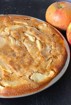 Äppelkaka uit Janneke Philippi's nieuwe appeltaart boek - ENJOY! The Good Life Apple Pie, Sweet Recipes, Creme, Life Is Good, Menu, Good Things, Cooking, Healthy, Desserts