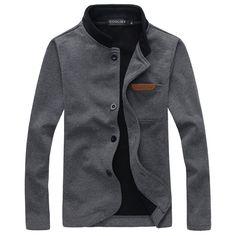 2017 novo homem da marca jaqueta sping & outono bolso decorado de alta qualidade jaquetas casuais ao ar livre moda casaco homens clothing