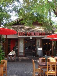 Café Batu Jimbar in Sanur, Bali Jimbaran, Bali Travel, Sanur Bali, Restaurant, Places, Outdoor Decor, Lunch, Home Decor, Decoration Home