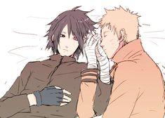 Naruto x Sasuke <3 #narusasu #sasunaru