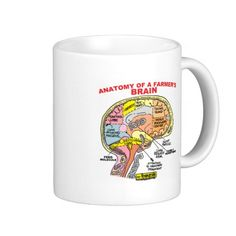 ANATOMY OF A FARMER'S BRAIN MUGS http://www.zazzle.com/anatomy_of_a_farmers_brain_mugs-168441720904249290?rf=238588924226571373