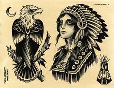tattoo eagle old school & tattoo eagle + tattoo eagle arm + tattoo eagle small + tattoo eagle back + tattoo eagle old school + tattoo eagle geometric + tattoo eagle chest + tattoo eagle feminine Eagle Tattoos, Old Tattoos, Black Tattoos, Body Art Tattoos, Sleeve Tattoos, Old School Tattoo Motive, Old School Tattoo Designs, Traditional Eagle Tattoo, Traditional Tattoo Design
