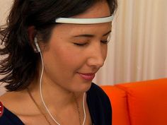 Controlling things with touch, voice and gestures might one day be old-fashioned. The new Muse headband, which reads your brainwaves, could be a step towards mind control. Would you try this? #muse_headband #brainsensing_headband #headband