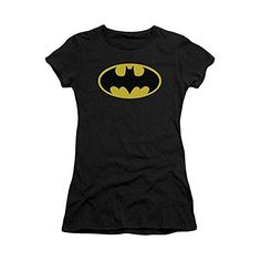 Batman Classic Logo Crop Sleeve Fitted Juniors T-Shirt, Small Trevco http://www.amazon.com/dp/B00589DH4E/ref=cm_sw_r_pi_dp_NBjaxb1JXS2DG