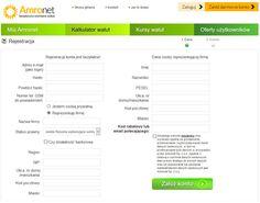 """Amronet.pl. Ciąg dalszy CYKLU EDUKACYJNEGO nr 6. Jak dokonać bezpłatnej Rejestracji konta w Amronet.pl w 3 minuty?  Podczas dokonywania bezpłatnej rejestracji na stronie głównej www.amronet.pl proszę kliknąć przycisk """"Załóż konto"""" kierującej do karty Rejestracja lub w link https://www.konto.amronet.pl/Account/Rejestracja . Podczas procesu Rejestracji należy uzupełnić wszystkie dostępne pola. Dane wprowadzane podczas Rejestracji muszą być poprawne oraz prawdziwe."""
