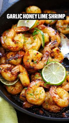 Healthy Chicken Dinner, Easy Chicken Dinner Recipes, Shrimp Recipes Easy, Baked Chicken Recipes, Seafood Recipes, Healthy Dinner Recipes, Easy Meals, Cooking Recipes, Meals With Shrimp