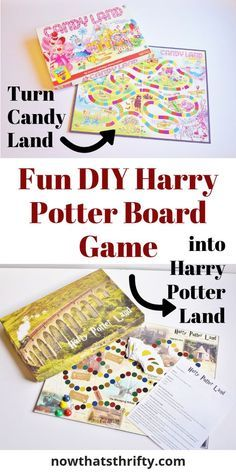 Are you looking for a fun DIY Harry Potter board game to make? This Harry Potter., DIY and Crafts, Are you looking for a fun DIY Harry Potter board game to make? This Harry Potter Candy Land is easy to make with our step by step tutorial and free pr. Harry Potter Diy, Natal Do Harry Potter, Harry Potter Board Game, Harry Potter Candy, Classe Harry Potter, Harry Potter Classroom, Theme Harry Potter, Harry Potter Pictures, Harry Potter Birthday