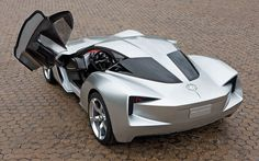 Corvette C7 Stingray Concept, launched in 2012   Chevrolet C7 Corvette Rear Three Quarter View Photo 1