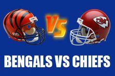 Cincinnati Bengals vs Kansas City Chiefs Live NFL Streaming