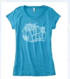Beach Bocce Ball Women's Bella T-Shirt