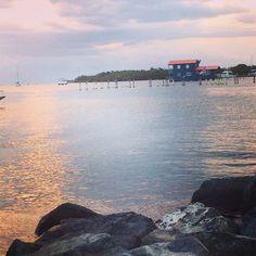 Playa, relax, Sunset