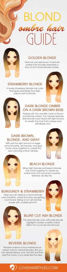 Blonde Ombre Hair - Best Color Ideas for This Season