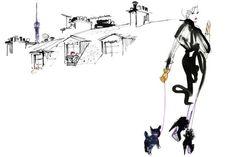 Lovisa Burfitt Fashion Illustrations by pam