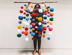 The New Way To Make Pom-Poms And What To Do With Them. | Style It Like You Stole It