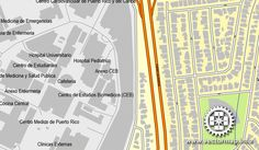 San Juan,  Puerto Rico, US, printable vector street City Plan map, full editable, Adobe PDF, full vector, scalable, editable, text format  street names. All streets, All buildings. 43,8 Mb ZIP. DOWNLOAD NOW>>> http://vectormap.info/product/san-juan-puerto-rico-us-printable-vector-street-city-plan-map-full-editable-adobe-pdf/