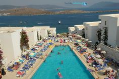 BODRUM Travel And Leisure, Holiday Destinations, Dolores Park, Table Decorations, Holiday Beach, Outdoor Decor, Turkey, Hotels, Home Decor