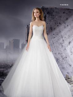 Abito da sposa corpetto luminiso Dalin 2016 per Bride Project Buttrio www.brideproject.it