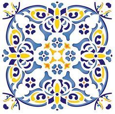 Papel para Decoupage DAX - 022 Azulejo Português Litoarte - Adesiva - Decoupage - Empório Janial