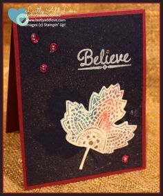 Lighthearted Leaves, Katherine Macdonald, Stampin' Up!