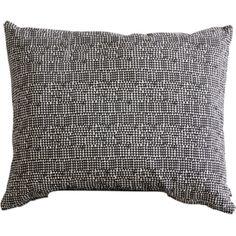 Screen-printed Black and White Cushion
