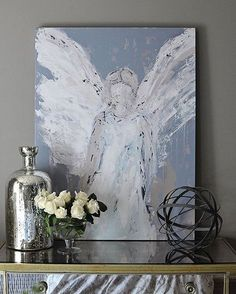 """One of the items we get asked most about in our home is this beautiful painting by @deannart. It has been sold out for quite some time but she has released another batch of them in honor of Easter. You can find a direct link to them on our blog. But hurry, they are available for this week only! """"As for me, I know that my Redeemer lives!"""""""