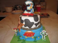 Woody Themed Toy Story Cake