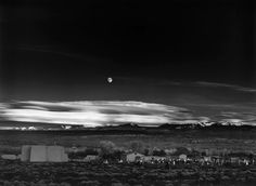 Moonrise, Hernandez, New Mexico, Photo by Ansel Adams, 1941