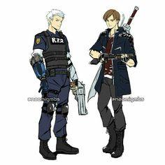 Devil May Cry, Resident Evil, Nero Dmc, Dino Crisis, Divas, Gamer Tags, Dmc 5, Fandom Crossover, Demon Hunter