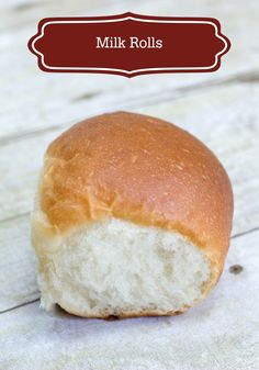 This soft and tasty Milk Rolls recipe compliments any dinner perfectly.