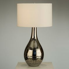 Perf Table Lamp