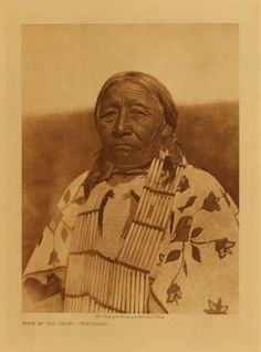 Wife of Old Crow - Cheyenne.