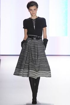 Elegant silhouettes are back A/W 12/13