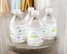 PERSONALIZED WATER BOTTLE LABELS – PRECIOUS CARGO