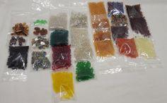 Bulk BEAD Supply Glass Beads  25 Packs of Glass by Beadgarden55