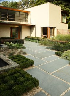 Linear - contemporary - patio - los angeles - Doyle Herman Design Associates