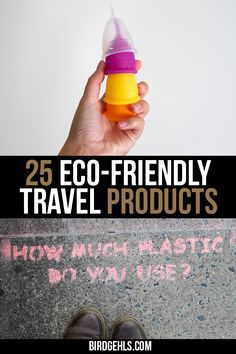 Here are some eco-friendly travel products you should take with you if you want to be a more #sustainable traveller. Some are only needed for short trips, but others will come in handy if you're nomadic or are going away for a longer holiday. / #EcoTraveller / #GreenTravel / #SustainableTravel / Eco friendly products for sustainable travel / Eco-friendly products / Travel accessories / Eco friendly travel bags / #EthicalTravel / #Responsibletravel / Travel Items, Travel Gadgets, Travel Gifts, Travel Products, Travel Bags, Travel Backpack, Packing Tips For Travel, Travel Advice, Travel Essentials