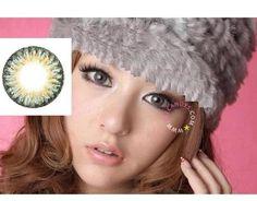 GEO Berry Holic Grey - EyeCandys Circle lenses, colored circle lens, big eye circle contact lens, colored contacts, color contact lens