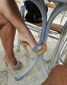 Men In Heels, Sexy Legs And Heels, Open Toe High Heels, Hot High Heels, Nylons, Beautiful High Heels, Sexy Sandals, Sexy Toes, Female Feet