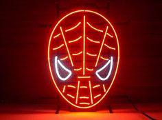 Spiderman neon