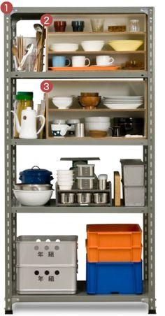 食器の収納を考える | D&DEPARTMENT