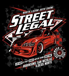 street legal shirt design car show