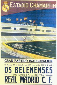 Inauguração do Estádio Santiago Bernabeu // Santiago Bernabeu Stadium 1st match | Real Madrid - Os Belenenses | 14/12/1947
