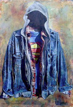 Layers - Gordon Smedt - oil on canvas
