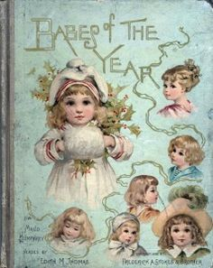 Book cover illustrated by Maud Humphrey
