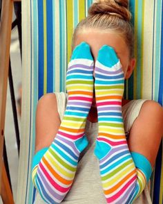 Rainbow socks 🌈