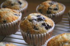 Weight Watchers Old-Fashioned Blueberry Muffins