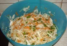 Háromszínű saláta fehér káposztából Ethnic Recipes, Food, Essen, Meals, Yemek, Eten
