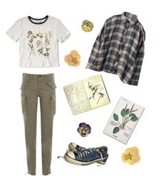 """""""The herbalist"""" by sofiapetronella on Polyvore featuring Moleskine, Abercrombie & Fitch, Polo Ralph Lauren, Converse and UNIF"""