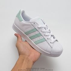 quality design 9c2fd 67dd8 Adidas Superstar Ii White Green Leather Trainers,Adidas Superstar Snake  Stripe,CG5461 UNISEX Leather Upper FSR Adidas superstar