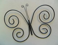 1 million+ Stunning Free Images to Use Anywhere Wire Crafts, Metal Crafts, Barbed Wire Art, Wire Wall Art, Hanger Crafts, Wire Ornaments, Metal Art Projects, Blacksmith Projects, Metal Yard Art